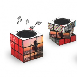 Logo trade promotional merchandise picture of: Rubik´s Bluetooth Speaker