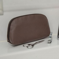 Apple Leather Toiletry Bag