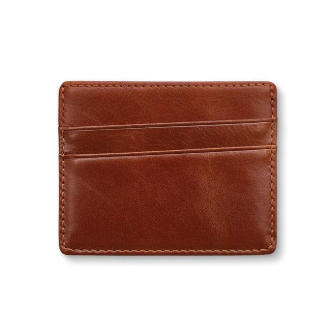 Estonian Design Leather card holder - wallet , brown color image