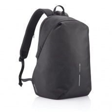 Anti-theft backpack Bobby Soft, black