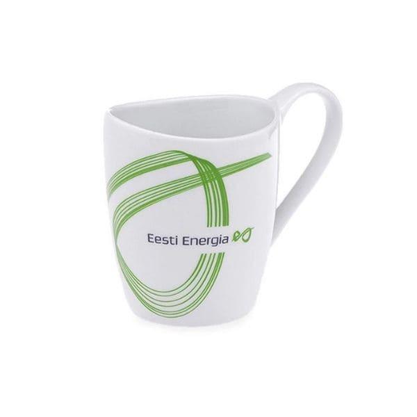 Tass või kohvikruus Eesti Energia logoga