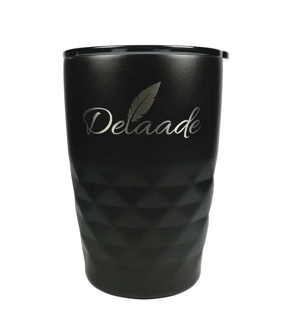 Graveering Delaade logoga termoskruus