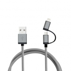 Aluminium Data Transfer Cable color grey