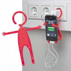 Mobile phone holder 'Lodsch'  color red