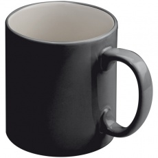 Ceramic cup LISSABON  color black