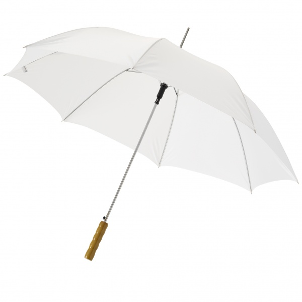 Lisa automaattinen sateenvarjo, valkoinen