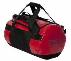 2-in-1 bag 75 L, punainen