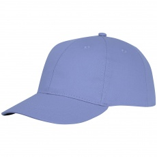 Ares 6 panel cap light blue