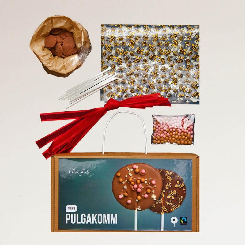 Joululahjat - joululahjaideat - Lahjapaketti TEE ITSE TIKKUKARAMELLI