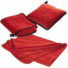 2in1 fleece blanket/pillow Radcliff  red