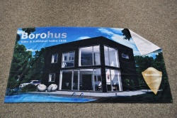 : Digital printed towel 70 x 140 cm LAT