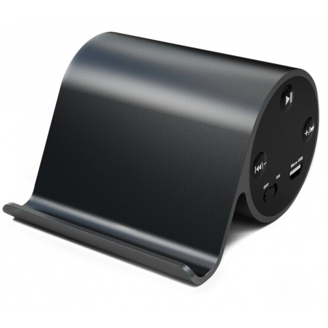 Лого трейд pекламные продукты фото: Bluetooth Speaker with phone holder  color black