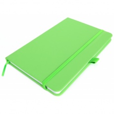 A5 note book 'Kiel'  color light green