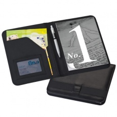 A5 Conference folder 'Hudson'  color black