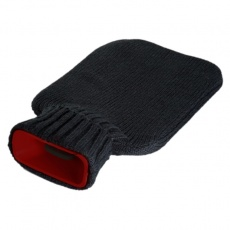 Hot-water bottle 'Kalibo'  color black