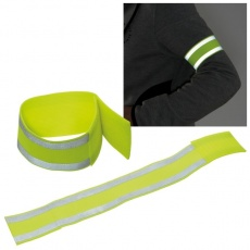 Reflective bracelet GENT  color yellow