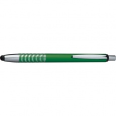 Ball pen with touch pen DIJON  color green