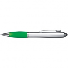 Ball pen with touch pen 'Danzig'  color green