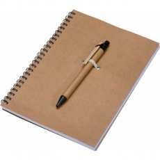 A5 ECO Notepad 'Kentwood'  color brown