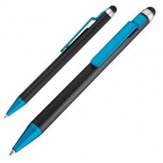Ball pen with touch pen FLORIDA  color teal