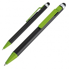 Ball pen with touch pen FLORIDA  color light green