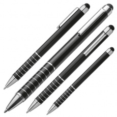 Ball pen with Touch-Pen LUEBO  color black