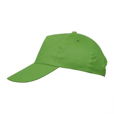 : 5-panel cap 'New York'  color green