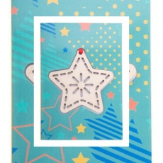 CreaX Christmas card, star